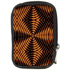 Fractal Pattern Of Fire Color Compact Camera Cases by Simbadda