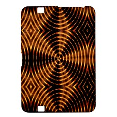 Fractal Pattern Of Fire Color Kindle Fire Hd 8 9  by Simbadda