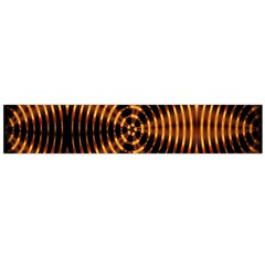 Fractal Pattern Of Fire Color Flano Scarf (large) by Simbadda