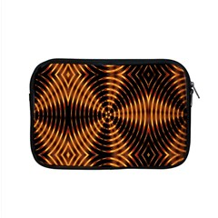 Fractal Pattern Of Fire Color Apple Macbook Pro 15  Zipper Case by Simbadda