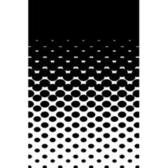 Halftone Gradient Pattern 5 5  X 8 5  Notebooks by Simbadda