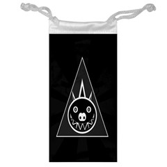 Abstract Pigs Triangle Jewelry Bag by Simbadda