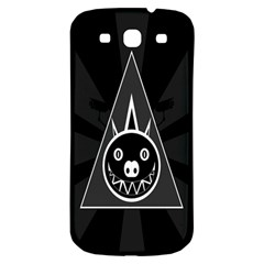 Abstract Pigs Triangle Samsung Galaxy S3 S Iii Classic Hardshell Back Case by Simbadda