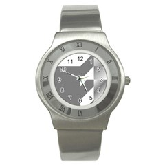 Gradient Base Stainless Steel Watch by Simbadda