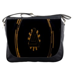 Geometry Interfaces Deus Ex Human Revolution Deus Ex Penrose Triangle Messenger Bags by Simbadda