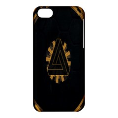 Geometry Interfaces Deus Ex Human Revolution Deus Ex Penrose Triangle Apple Iphone 5c Hardshell Case by Simbadda
