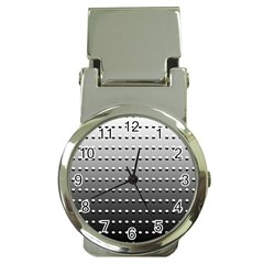 Gradient Oval Pattern Money Clip Watches by Simbadda