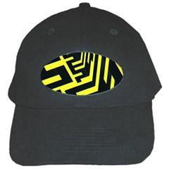 Pattern Abstract Black Cap by Simbadda