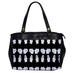 Cute Ghost Pattern Office Handbags by Simbadda