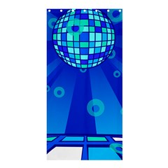 Disco Ball Retina Blue Circle Light Shower Curtain 36  X 72  (stall)  by Alisyart