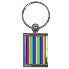 Rainbow Gradient Key Chains (rectangle)  by Simbadda