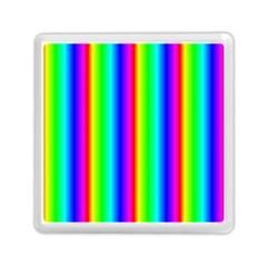 Rainbow Gradient Memory Card Reader (square)  by Simbadda