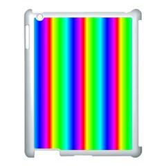 Rainbow Gradient Apple Ipad 3/4 Case (white) by Simbadda