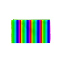 Rainbow Gradient Cosmetic Bag (xs) by Simbadda