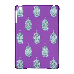 Disco Ball Wallpaper Retina Purple Light Apple Ipad Mini Hardshell Case (compatible With Smart Cover) by Alisyart