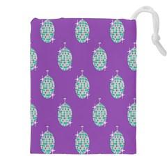 Disco Ball Wallpaper Retina Purple Light Drawstring Pouches (xxl) by Alisyart