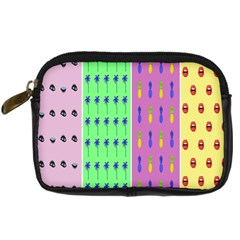 Eye Coconut Palms Lips Pineapple Pink Green Red Yellow Digital Camera Cases by Alisyart