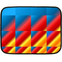 Gradient Map Filter Pack Table Fleece Blanket (mini) by Simbadda