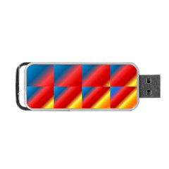Gradient Map Filter Pack Table Portable Usb Flash (two Sides) by Simbadda