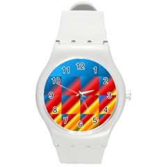 Gradient Map Filter Pack Table Round Plastic Sport Watch (m) by Simbadda