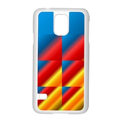 Gradient Map Filter Pack Table Samsung Galaxy S5 Case (white) by Simbadda