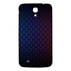 Hexagon Colorful Pattern Gradient Honeycombs Samsung Galaxy Mega I9200 Hardshell Back Case by Simbadda