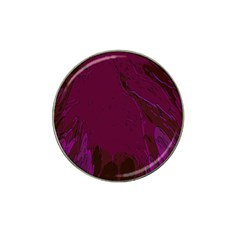 Abstract Purple Pattern Hat Clip Ball Marker (10 Pack) by Simbadda