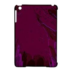 Abstract Purple Pattern Apple Ipad Mini Hardshell Case (compatible With Smart Cover) by Simbadda