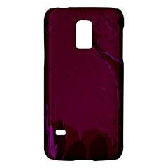 Abstract Purple Pattern Galaxy S5 Mini by Simbadda