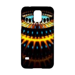 Abstract Led Lights Samsung Galaxy S5 Hardshell Case  by Simbadda