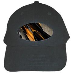 Abstract 3d Black Cap by Simbadda