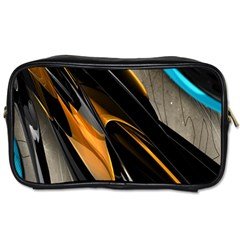 Abstract 3d Toiletries Bags
