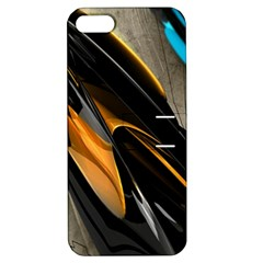 Abstract 3d Apple Iphone 5 Hardshell Case With Stand by Simbadda