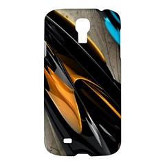 Abstract 3d Samsung Galaxy S4 I9500/i9505 Hardshell Case by Simbadda