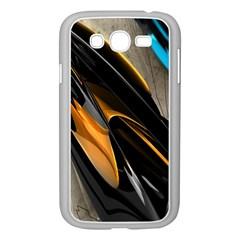 Abstract 3d Samsung Galaxy Grand Duos I9082 Case (white) by Simbadda