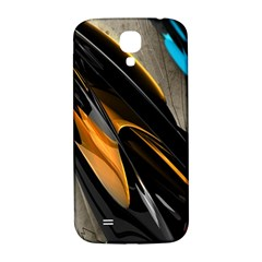 Abstract 3d Samsung Galaxy S4 I9500/i9505  Hardshell Back Case by Simbadda