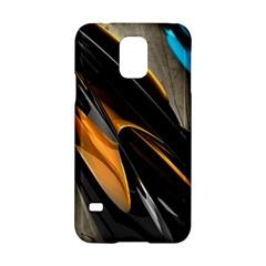 Abstract 3d Samsung Galaxy S5 Hardshell Case  by Simbadda