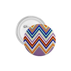 Chevron Wave Color Rainbow Triangle Waves Grey 1 75  Buttons by Alisyart