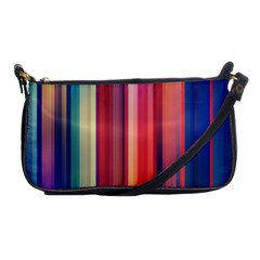 Texture Lines Vertical Lines Shoulder Clutch Bags by Simbadda