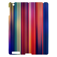 Texture Lines Vertical Lines Apple Ipad 3/4 Hardshell Case by Simbadda