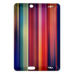 Texture Lines Vertical Lines Amazon Kindle Fire Hd (2013) Hardshell Case by Simbadda