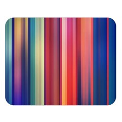 Texture Lines Vertical Lines Double Sided Flano Blanket (large)  by Simbadda