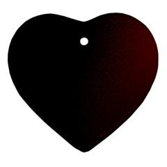 Abstract Dark Simple Red Ornament (heart) by Simbadda