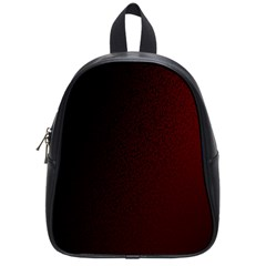 Abstract Dark Simple Red School Bags (small)  by Simbadda