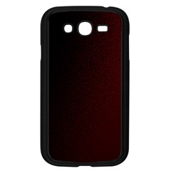 Abstract Dark Simple Red Samsung Galaxy Grand Duos I9082 Case (black) by Simbadda