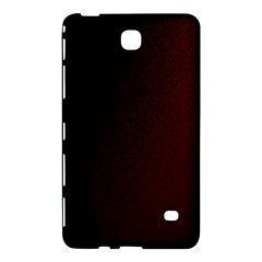 Abstract Dark Simple Red Samsung Galaxy Tab 4 (8 ) Hardshell Case  by Simbadda