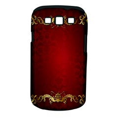 3d Red Abstract Pattern Samsung Galaxy S Iii Classic Hardshell Case (pc+silicone) by Simbadda