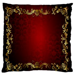 3d Red Abstract Pattern Standard Flano Cushion Case (one Side) by Simbadda