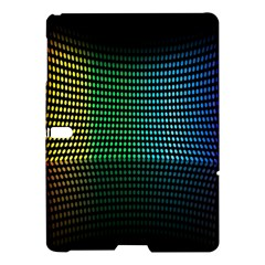 Abstract Multicolor Rainbows Circles Samsung Galaxy Tab S (10 5 ) Hardshell Case  by Simbadda