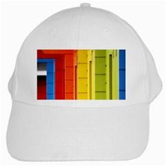 Abstract Minimalism Architecture White Cap by Simbadda